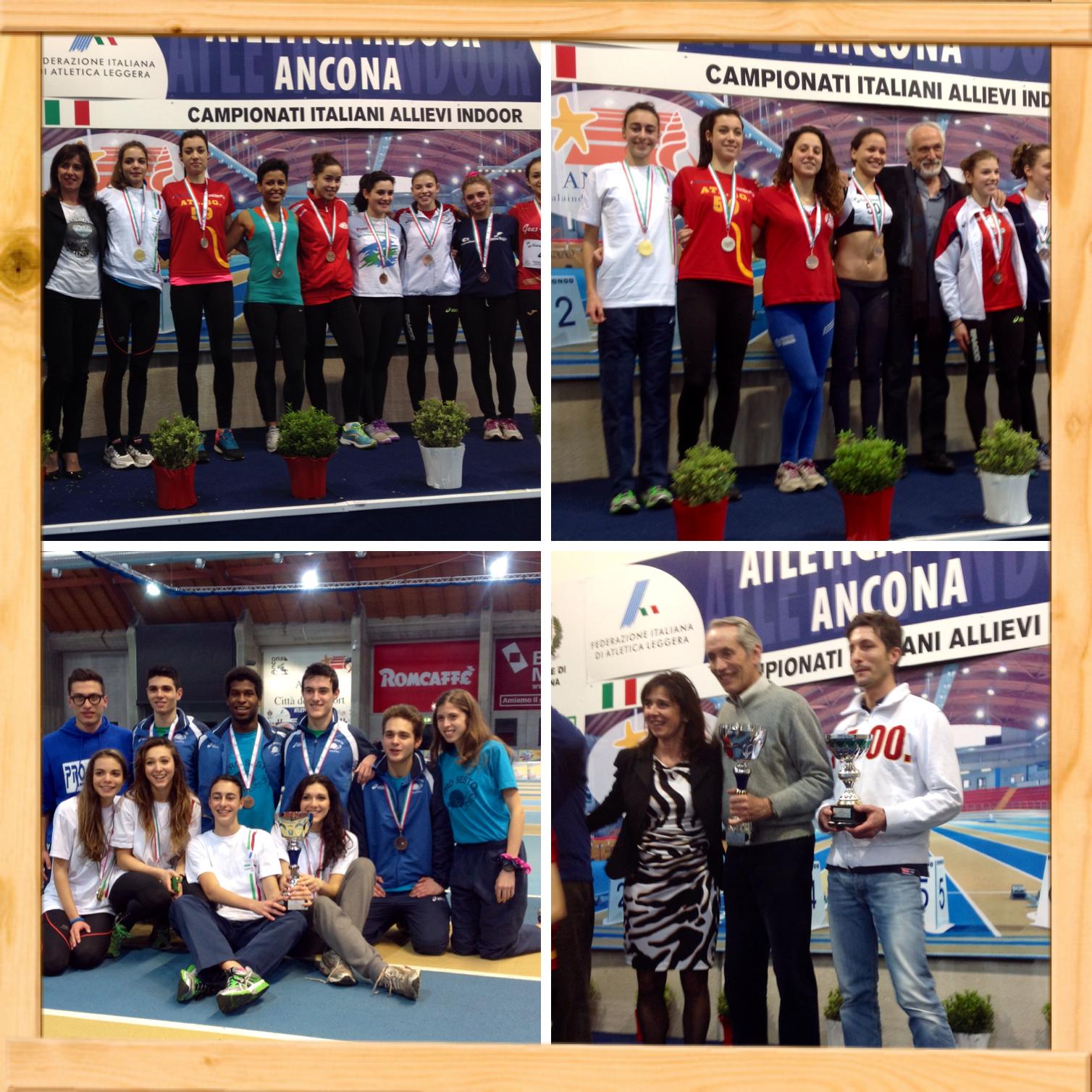 Campionati Italiani Indoor Allievi/e – Ancona 15-16 Febbraio 2014 –