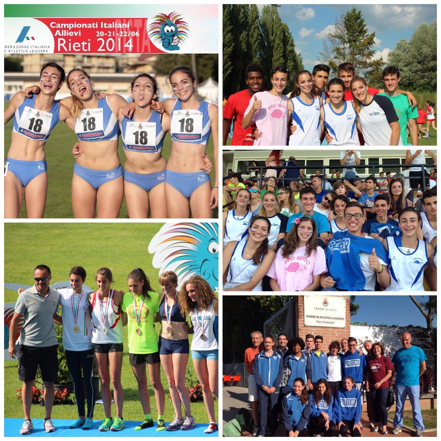 Grandi successi ai Campionati Italiani Allievi/e – Rieti 20-21-22 Giugno