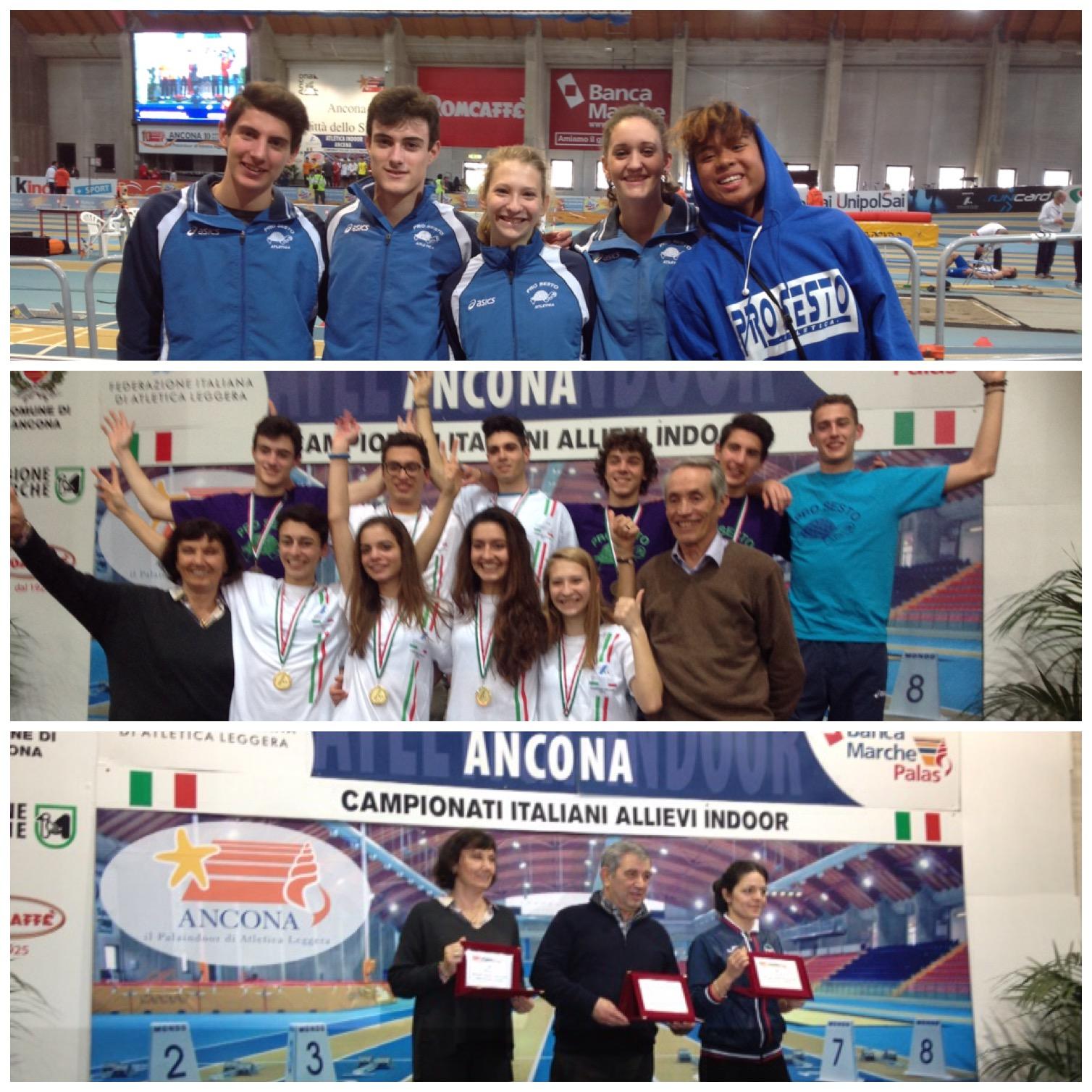 Campionati Italiani Allieve/i – Ancona 14 e 15 Febbraio