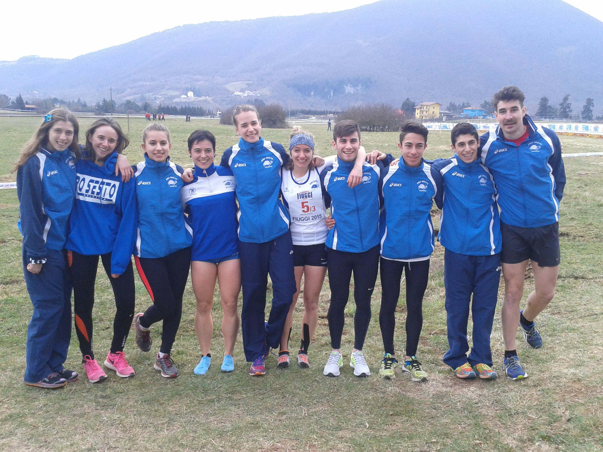 Festa del Cross Campionati Italiani Individuali e di Società – Fiuggi 14 e 15 Marzo