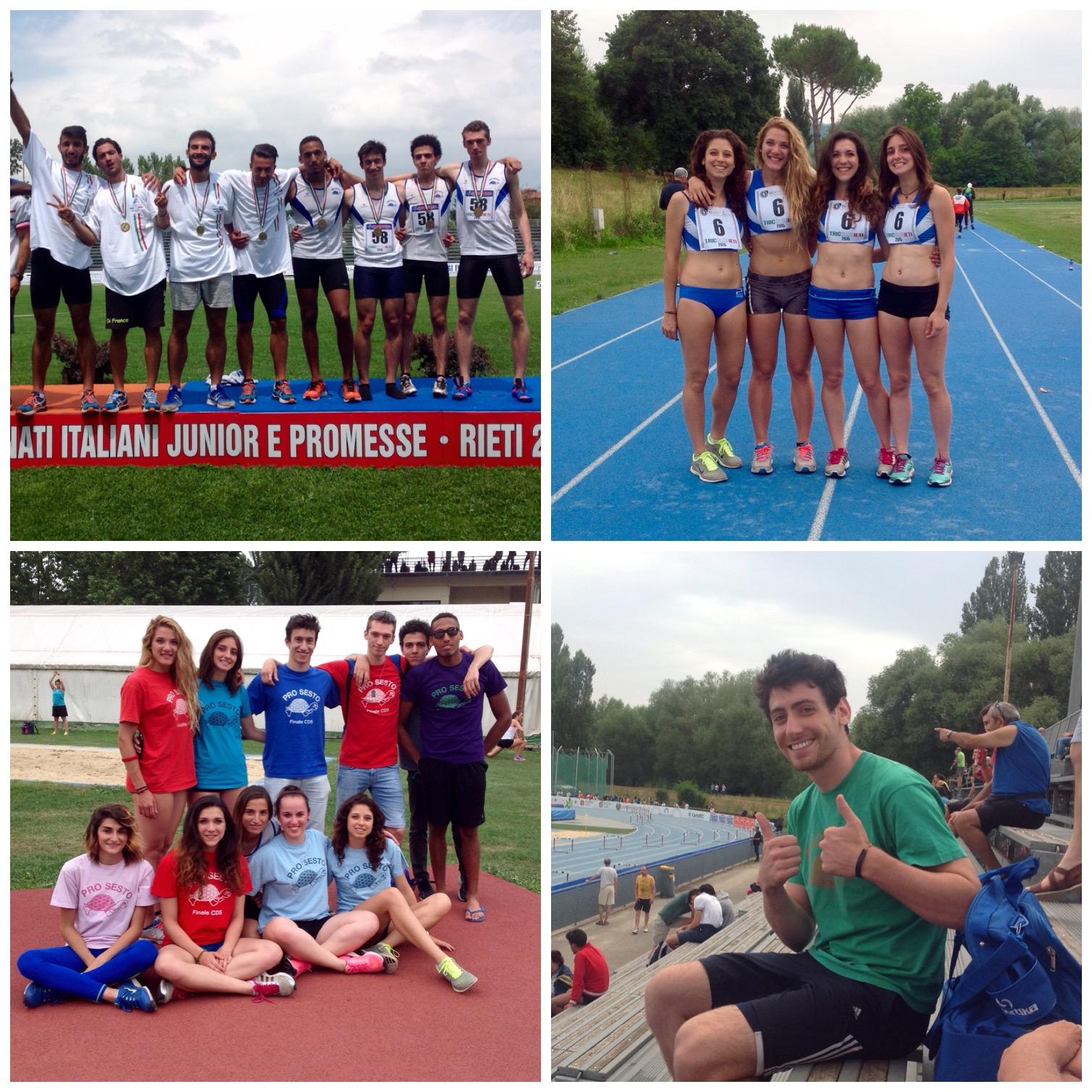 Campionati Italiani Juniores e Promesse – Rieti 12/14 Giugno –