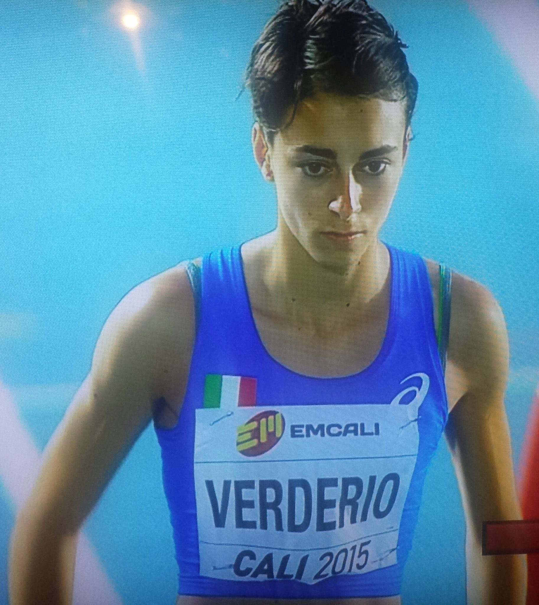 ILARIA VERDERIO  400Hs  57″75  record Italiano under 18