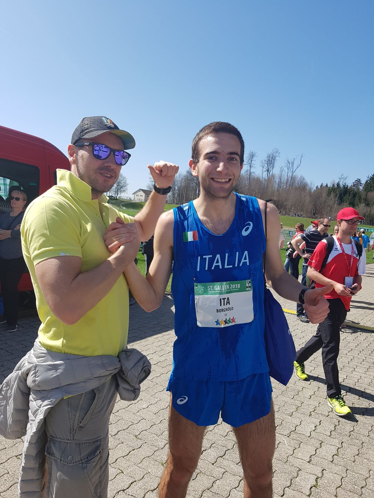 CAMPIONATI MONDIALI DI CROSS UNIVERSITARIO S.GALLO (CH)-ROMANO DI LOMBARDIA-BUSTO ARSIZIO-PAVIA-SAN GIOVANNI LUPATOTO (VR)